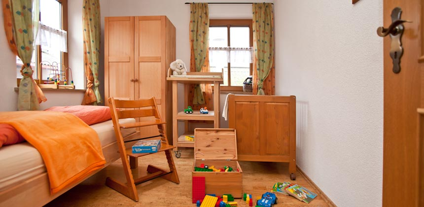 Schlafzimmer2 Ferienwohnung Binder Bad Windsheim
